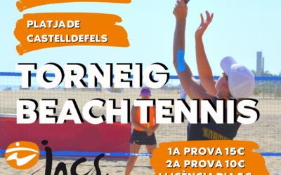TORNEIG BEACH TENNIS