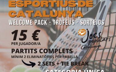 CAMPIONAT NACIONAL DE PÀDEL DELS CONSELLS ESPORTIUS DE CATALUNYA
